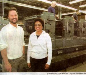 Jake Garrison, Garrison Printing with Deborah Karper 1999